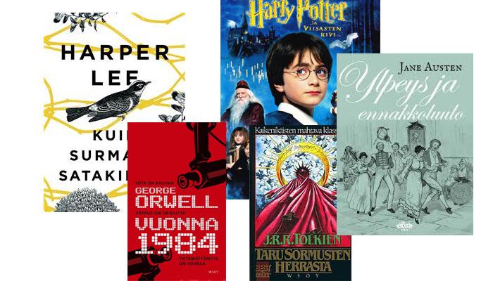 Parhaat kirjat suomessa