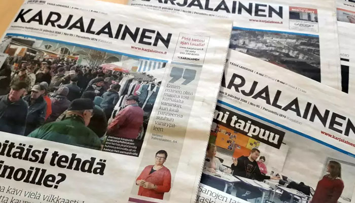 Sanomalehtien painatus